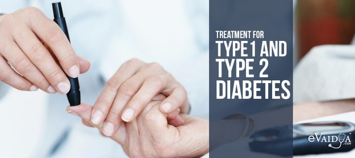 Treatment for Diabetes Type 1 and Type 2