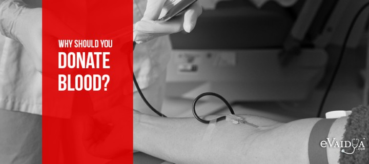 Why should you Donate Blood?