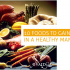10 Foods to Gain Weight in a Healthy Manner