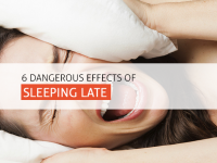 6 Dangerous Effects of Sleeping Late