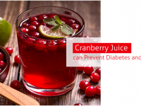 Cranberry Juice can Prevent Diabetes and Heart Disease