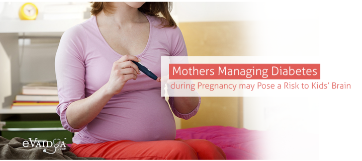 Mothers Managing Diabetes during Pregnancy may Pose a Risk to Kids' Brain