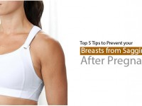 Top 5 Tips to Prevent your Breasts from Sagging After Pregnancy