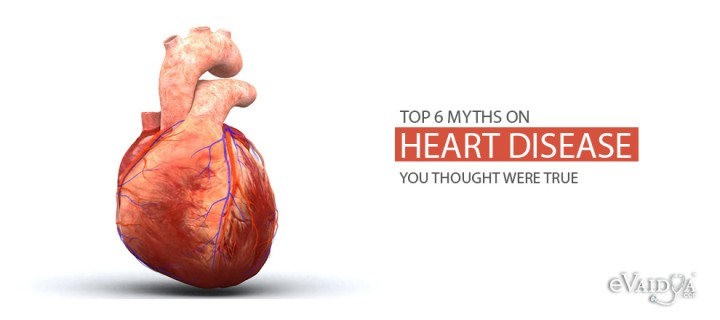 Top 6 Myths on Heart Disease
