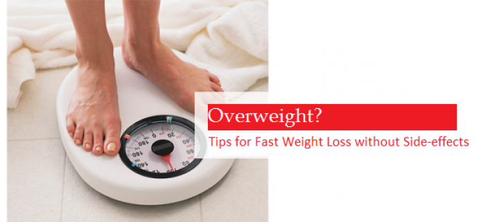 15 Useful Tips for Fast Weight Loss without Side-effects