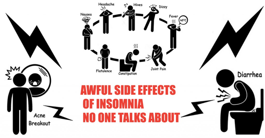 Awful side effects of insomnia no one talks about